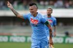 CHIEVO VERONA 2-4 NAPOLI : Hamsik Borong 2 Gol, Napoli Kembali Menang