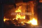 KEBAKARAN SEMARANG : Rumah di Peterongan Ludes Terbakar, 1 Orang Tewas