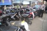 PILKADA KARANGANYAR : 117 Motor Pendukung Cabup Ditilang