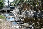 Sungai Jadi Tempat Pembuangan Sampah, Warga Diteror Nyamuk