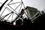 ANGIN KENCANG KLATEN : Tower Roboh, Rekam Data E-KTP Dialihkan di Pemkab