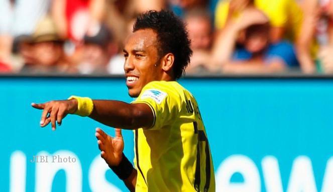 JELANG ARSENAL VS BORUSSIA DORTMUND : Aubameyang Janji Dortmund Lebih Baik