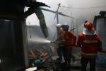 KEBAKARAN MADIUN : 6 Kios Pasar Nglames Madiun Terbakar