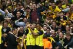 ARSENAL VS BORUSSIA DORTMUND : Lewandowski Beri The Gunners Kekalahan 2-1