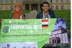 Teliti Pakan Unggas di Kulonprogo, Dua Mahasiswa UGM Presentasi di Jerman