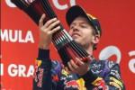 GP F1 INDIA : Menang di India, Vettel Pastikan Juara Dunia
