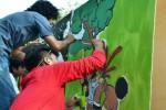 PILKADA 2018 : KPU Kudus Sosialisasikan Pilbup Lewat Lomba Mural