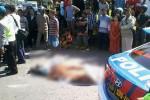 Kecelakaan di Pertigaan Madiun, Perempuan Pengendara Sepeda Motor Meninggal
