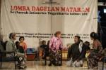 Dinas Kebudayaan Hidupkan Dagelan Mataram
