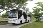 UNS SOLO : Bus Listrik Bantuan Kemenristek untuk Transportasi Mahasiswa