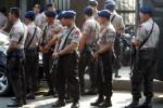 UPAH  BURUH : TNI-Polisi Terjunkan Ratusan Personel Amankan Demo Buruh di Semarang