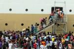 RAMADAN 2015 : Begini Berbuka Puasa Pemudik di KM Tidar