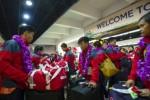 FOTO SEA GAMES : Atlet Indonesia Pulang Kampung