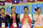 FOTO SEA GAMES : Suporter Tuan Rumah Dongkrak Semangat