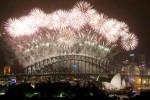 FOTO TAHUN BARU 2014 : Kembang Api Hiasi Angkasa Sydney