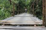 JEMBATAN RUSAK : Tunggu Kemarau, Jembatan Jerukan Dibangun Maret