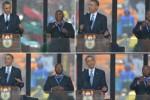 KISAH UNIK : Penerjemah Palsu Bahasa Isyarat Obama Diburu Polisi