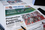 SOLOPOS HARI INI : Penghasilan Pengemis, Indonesia Vs Kamboja, Pemberantasan Korupsi