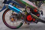 TAHUN BARU 2014 : Gunakan Knalpot Blombongan, 100 Motor Ditilang