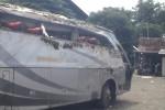 Bus Rombongan Peziarah Nyungsep Sawah, 6 Tewas