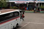 FOTO PENUTUPAN TERMINAL LEBAK BULUS : Baliho Penolakan Penutupan