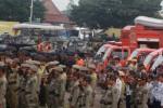 FOTO APEL SIAGA BENCANA : Diikuti 1255 Orang Personil Gabungan