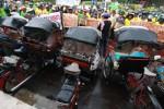 Sering Ditilang, Becak Motor Demo