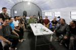 """GUNUNG SINABUNG MELETUS : Presiden Ajak Metro TV dan TV One Syuting """"Tenda Rp15 M"""""""