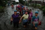 FOTO BANJIR KUDUS-GROBOGAN : Kudus-Grobogan Terendam Banjir