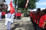 Upacara Bendera Warnai Peringatan HUT Ke-41 PDIP