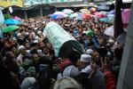 FOTO KIAI SAHAL MAHFUDZ WAFAT : Diiringi Ribuan Pelayat