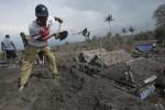 FOTO DAMPAK LETUSAN KELUD : Desa Rusak