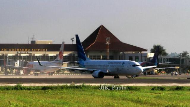 Hanya Domestik, Bandara Adi Soemarmo Dilintasi 27.211 Penumpang