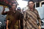 Joko Widodo (kiri), saat masih menjadi Gubernur DKI Jakarta, dan Basuki Tjahaja Purnama alias Ahok.(JIBI/Solopos/Antara/dok)