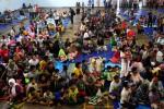 FOTO BANJIR PEKALONGAN : Pengungsi Masih Bertahan