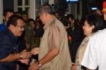 FOTO GUNUNG KELUD MELETUS : Presiden di Madiun