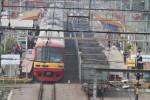 FOTO STASIUN KEBAYORAN : Rel Ganda Jakarta-Surabaya