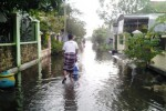 BANJIR GROBOGAN : Puluhan Rumah Warga di Purwodadi Tergenang Banjir