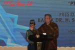 FOTO PERLUASAN PABRIK SRITEX GROUP : Presiden Memberikan Sambutan