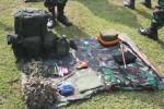 PENDIDIKAN MILITER : Siswa Semata PK Lanud Adi Soemarmo Jalani Latihan Berganda