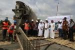 FOTO PEMBANGUNAN RS UNS : Peletakan batu pertama