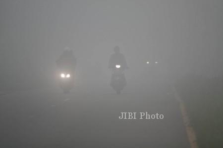 Penerbangan Nam Air Solo-Banjarmasin Delay Akibat Asap Karhutla di Kalimantan