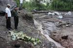 LAHAR HUJAN MERAPI : Jembatan di Klaten Ini Lenyap Disapu Banjir Lahar