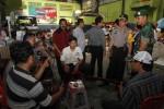 FOTO PEMILU 2014 : Meninjau pencoblosan