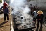 JALAN RUSAK WONOGIRI : Jalan Giribelah-Mukus Ditutup Total