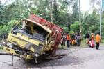 KECELAKAAN KLATEN : Truk yang Tabrak Rumah Melaju dengan Rem Blong Sejauh 1,5 Km!