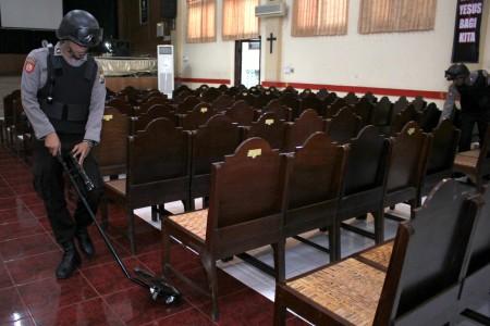 Perayaan Paskah, Setiap Gereja di Madiun Dijaga 30 Personel