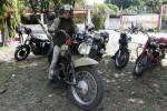 FOTO SEPEDA MOTOR ANTIK : Penggemar Motor Antik di Colomadu