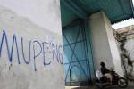 FOTO VANDALISME DI SOLO : Lawang Gapit Korban Vandalisme