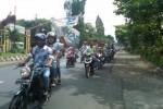 Belasan Pemuda Solo Ditangkap Polisi lantaran Berkonvoi Motor di Jalan Kampung